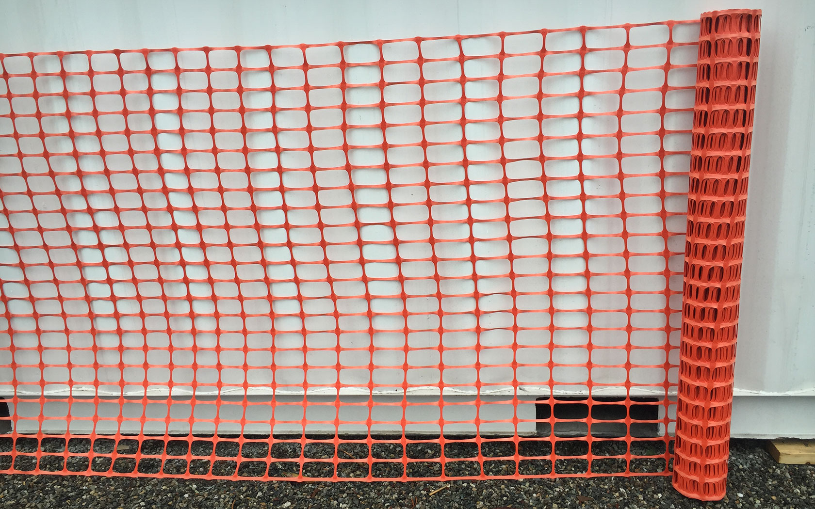 Safety snow fence  heavy duty