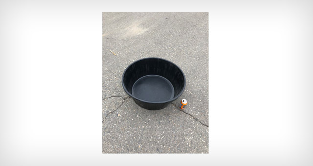 60L rubber flex tub for farming and agricultural applications