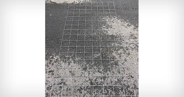 7.5' x 10' - 10 Gauge Concrete Mesh 6x6 Hole Spacing