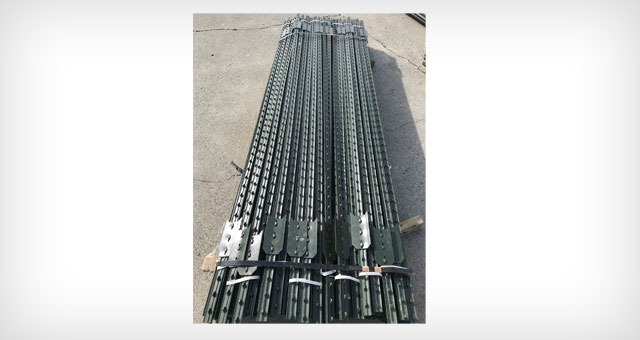 9 feet Steel T posts for farming and agriculture